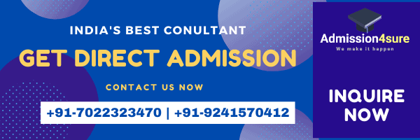 Contact Us for Direct admission