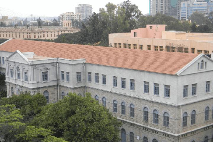 Campus View of St Josephs Evening College Bangalore