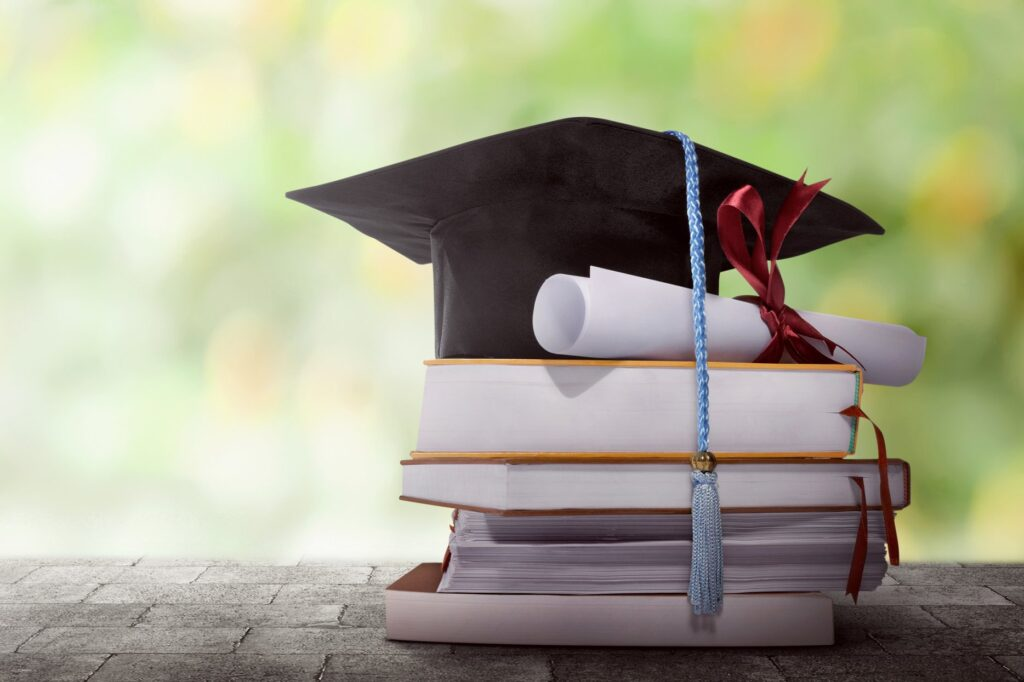 Degree and books