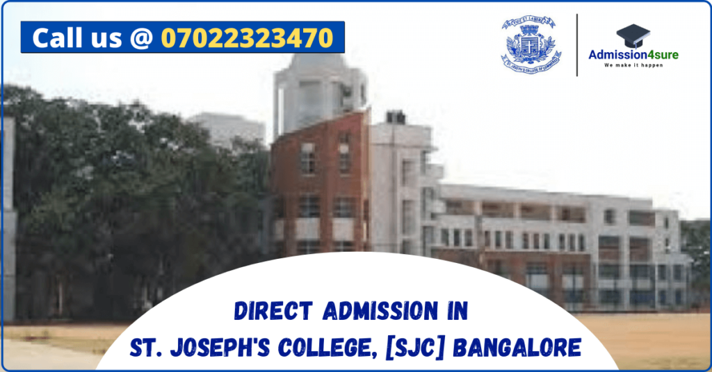 Direct admission in St. Joseph College, Bangalore