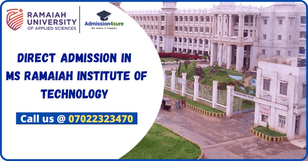 Direct Admission in Ramaiah Institute Of Technology | LinkedInRamaiah Institute Of Technology