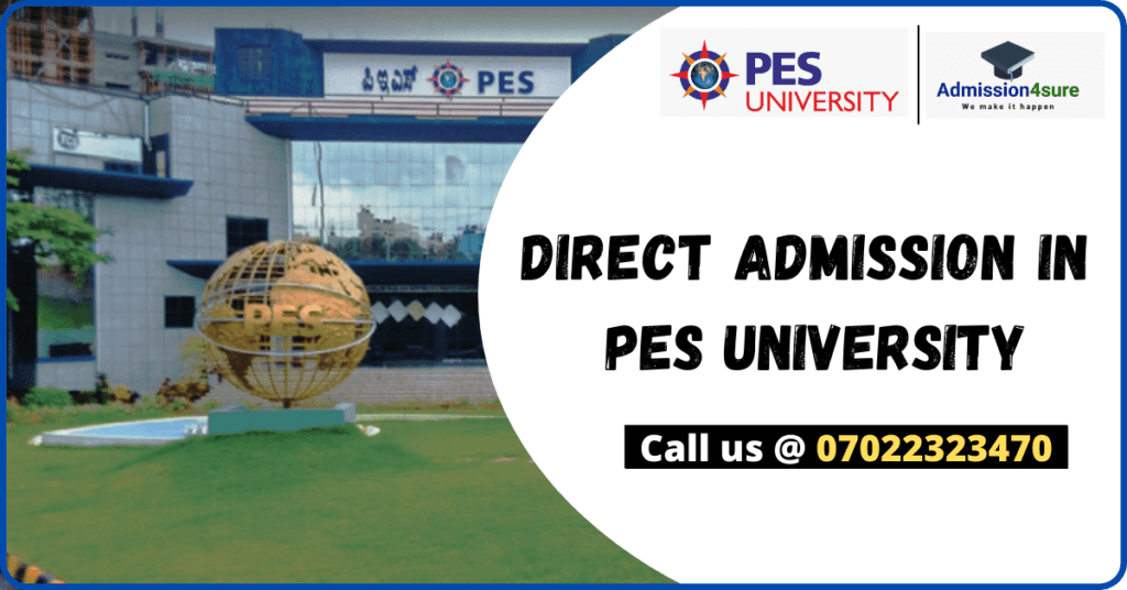 Direct Admission in PES University