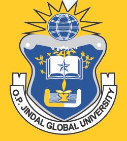 O. P. JINDAL GLOBAL UNIVERSITY logo